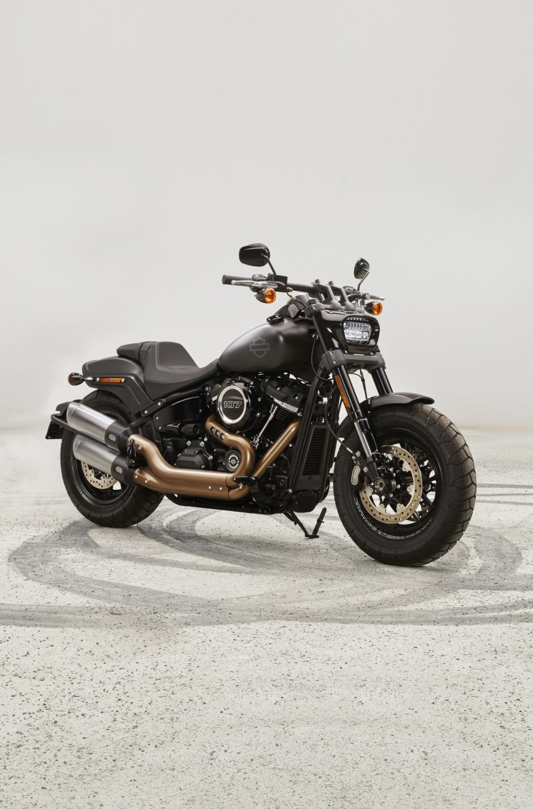 Modèle de moto Harley Davidson